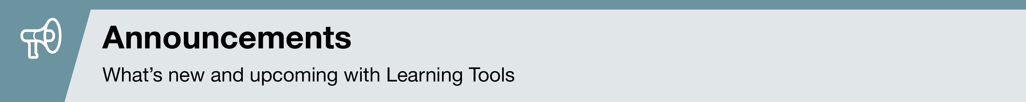 LearningTools_Announcements_SectionHead_801x80